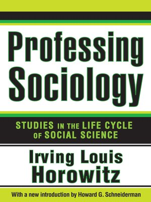 cover image of Professing Sociology