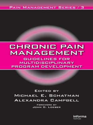 cover image of Chronic Pain Management
