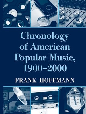 cover image of Chronology of American Popular Music, 1900-2000