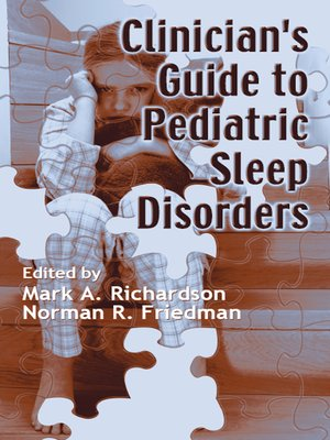 cover image of Clinician's Guide to Pediatric Sleep Disorders