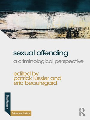 cover image of Sexual Offending