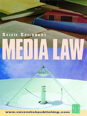 cover image of Media Law