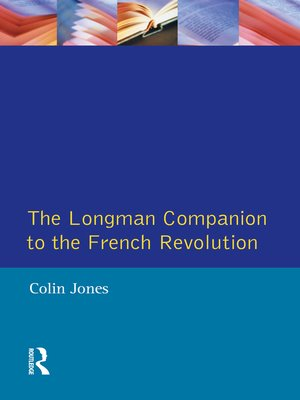 cover image of The Longman Companion to the French Revolution