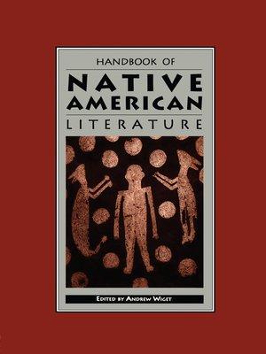 cover image of Handbook of Native American Literature