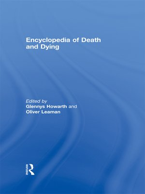 cover image of Encyclopedia of Death and Dying