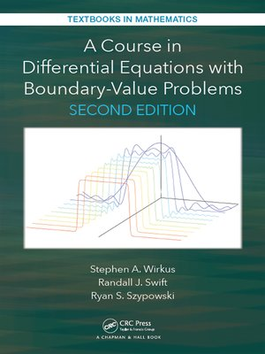 cover image of A Course in Differential Equations with Boundary Value Problems