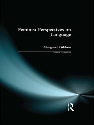 cover image of Feminist Perspectives on Language