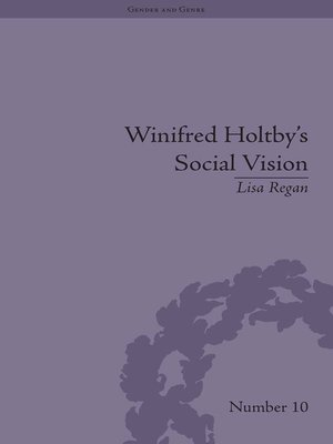 cover image of Winifred Holtby's Social Vision