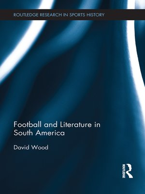 cover image of Football and Literature in South America