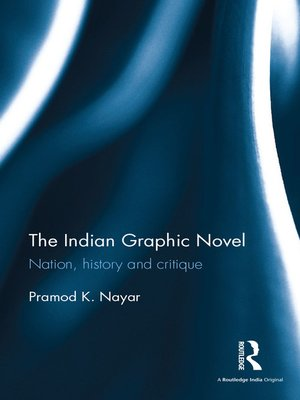 cover image of The Indian Graphic Novel