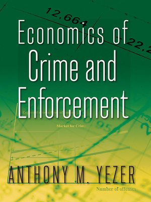 cover image of Economics of Crime and Enforcement