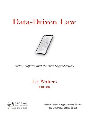 cover image of Data-Driven Law