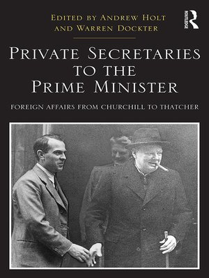 cover image of Private Secretaries to the Prime Minister