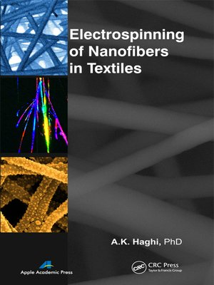 cover image of Electrospinning of Nanofibers in Textiles