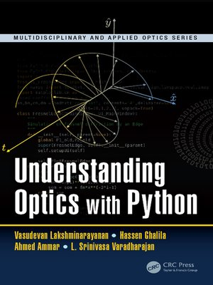 cover image of Understanding Optics with Python