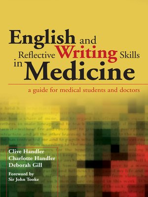 cover image of English and Reflective Writing Skills in Medicine