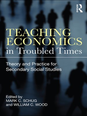 cover image of Teaching Economics in Troubled Times