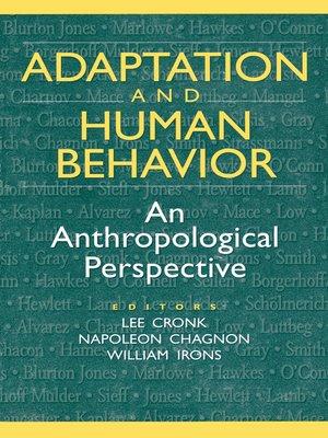 cover image of Adaptation and Human Behavior