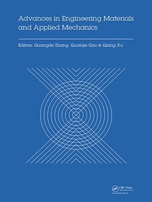 cover image of Advances in Engineering Materials and Applied Mechanics