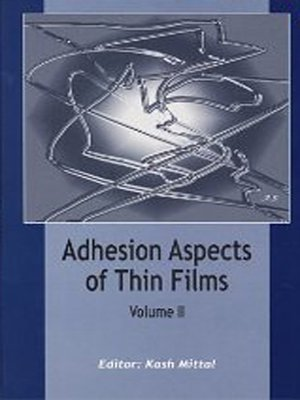 cover image of Adhesion Aspects of Thin Films, volume 2