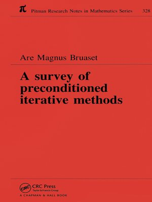 cover image of A Survey of Preconditioned Iterative Methods