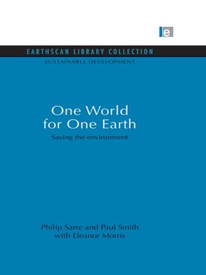 cover image of One World for One Earth