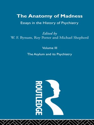 cover image of Anatomy of Madness Vol 3