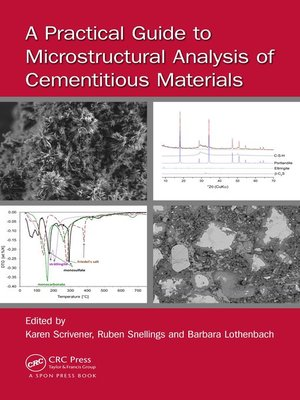 cover image of A Practical Guide to Microstructural Analysis of Cementitious Materials