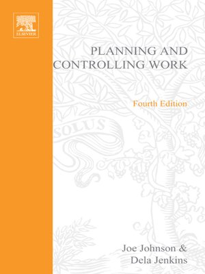 cover image of Planning and Controlling Work