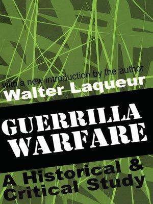 cover image of Guerrilla Warfare