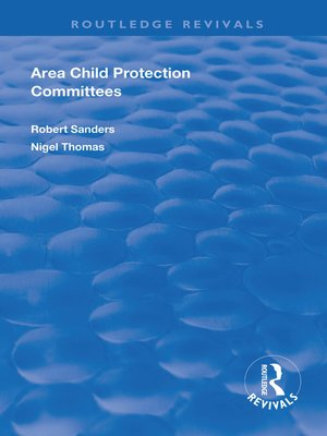 cover image of Area Child Protection Committees