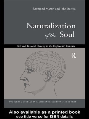 cover image of Naturalization of the Soul