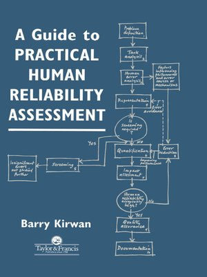 cover image of A Guide to Practical Human Reliability Assessment