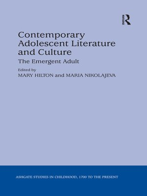 cover image of Contemporary Adolescent Literature and Culture