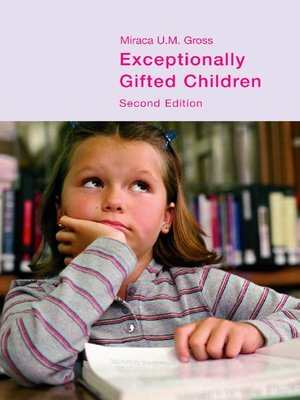 cover image of Exceptionally Gifted Children