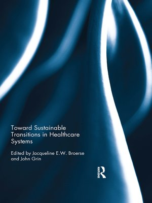 cover image of Toward Sustainable Transitions in Healthcare Systems