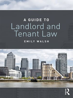 cover image of A Guide to Landlord and Tenant Law