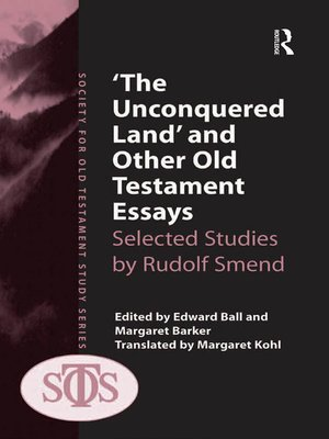 cover image of 'The Unconquered Land' and Other Old Testament Essays