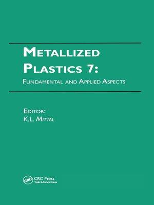 cover image of Metallized Plastics 7