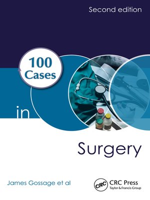 cover image of 100 Cases in Surgery