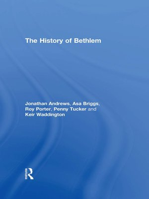 cover image of The History of Bethlem