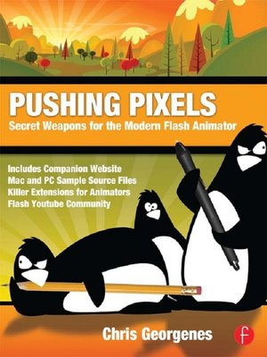cover image of Pushing Pixels