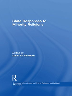 cover image of State Responses to Minority Religions
