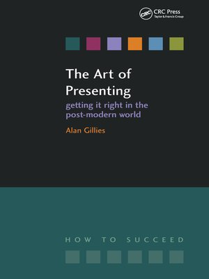 cover image of The Art of Presenting
