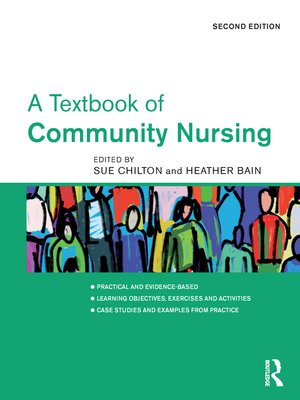 cover image of A Textbook of Community Nursing