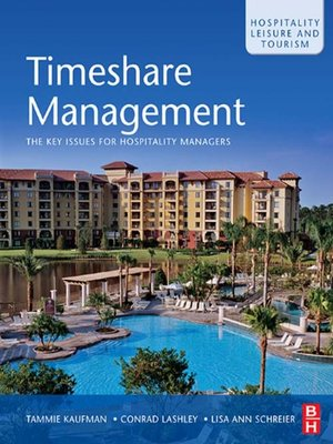 cover image of Timeshare Management