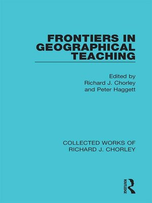 cover image of Frontiers in Geographical Teaching