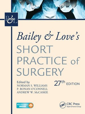 cover image of Bailey & Love's Short Practice of Surgery, 2