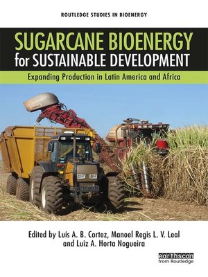 cover image of Sugarcane Bioenergy for Sustainable Development