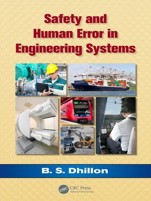 cover image of Safety and Human Error in Engineering Systems